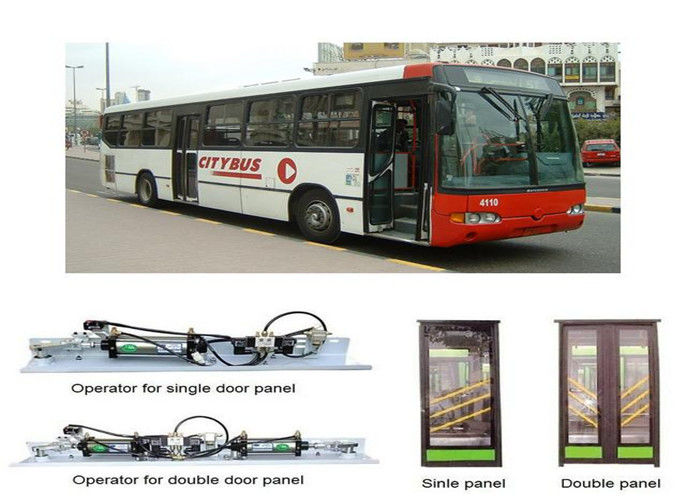 Sensitive Edge Pneumatic Bus Door Systems Inswing Sliding  Door Emergency Release
